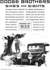 Dodge 1930 - Dodge Ad - Dodge Brothers Sixes and Eights - Upholding Every Tradit