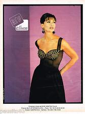 PUBLICITE ADVERTISING 055  1996  DUAL BLU   lingerie sous vetements BLU'UP