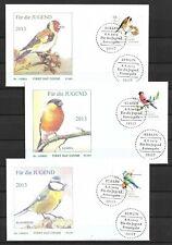 Germany / BRD - Birds - FDC`s 2013 - Full Set  (A2401)