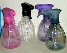 NEW Clear Plastic Water Spray Bottle SALON Hair plants pets soap jet stream head