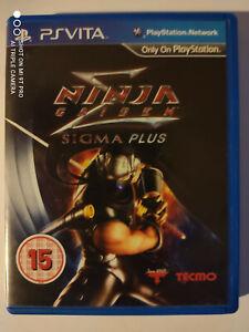 Ninja Gaiden Sigma Plus PsVita Playstation vita