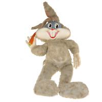 "Mattel Bugs Bunny Looney Tunes 60s 25"" Talking Plush Doll Pull String Vintage"