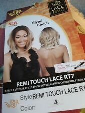 It's a Wig! Synthetic Remi Touch Lace Front Wig - RT7 Color 4