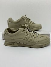 Helly Hansen Men's Beige Leather Casual Walking Lace Ups Shoes Size 9.5M Box15