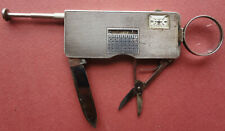 Schulz Watch-Propelling Pencil-Magnifier-Knife-Pl us Historic Sterling silver J.