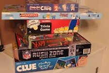 6 Board Games lot Scooby Adventure Family Guy Rush I SPY SImpsons MINT