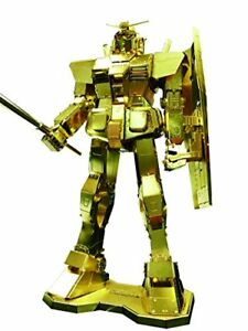 Tenyo Metallic Nano Puzzle Premium Series Gold Gundam