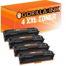 4 Toner XXL für HP Color LaserJet Pro M 254 DNW M 254 DW M 254 NW MFP M 280 NW