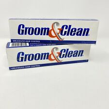 2 Groom And Clean Greaseless Hair Control 4.5 oz. New
