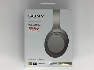 Sony WH-1000X M3 Wireless Noise Cancelling Headphones Used But Fully Working