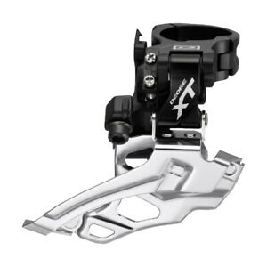 NEW Shimano Deore XT FD-M786 Front Derailleur 2x10s High Clamp 34.9mm Dual Pull