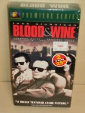 Blood and Wine (VHS, 1997)  - New & Sealed!