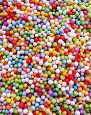 5000pcs Colors Polystyrene Styrofoam Filler Foam Beads Balls Crafts Wholesale