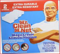 Mr. Clean Extra Power Magic Eraser, 2 ct Magic eraser with Extra power