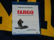 Fargo Blu Ray- Joel & Ethan Cohen Bros. Frances Mcdormand-{Brand New!]