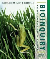 Bioinquiry: Making Connections in Biology, 3rd Edition