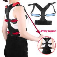 Adjustable Back Posture Corrector Shoulder Support Brace Therapy For Men Women