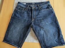 Jack & Jones Shorts kurze Jeans Gr. S  Regular Fit, dunkelblau