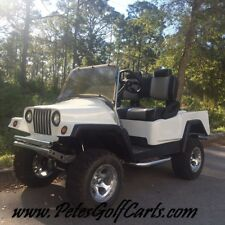 Club Car Custom Golf Cart Jeep Wrangler Body - Like New