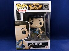 ASH 53 Army Of Darkness Funko Pop Evil Dead Horror Chainsaw Gun Blood Vinyle