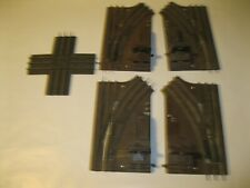 Lot 3A Lionel O Scale Right Left Switch Track Free Shipping Used 5121 5122