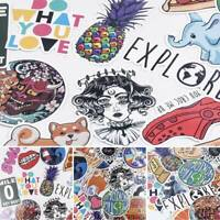 40x INS Skateboard Stickers Bomb Vinyl Laptop Luggage Decals Sticker Removable