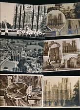 Somerset WELLS Cathedral x6 collection c1920/60s? RP PPCs