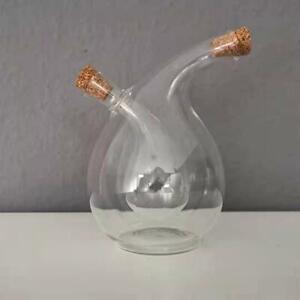 250 OVP ESSIG UND ÖL Flasche kombiniert Menage 2 in 1 Füllmenge 100 ml NEU