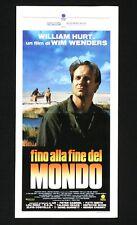 FINO ALLA FINE DEL MONDO locandina poster Wim Wenders Bis ans Ende der Welt AR70