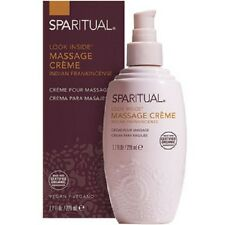 SPARITUAL Massage Creme 7.7 oz, VEGAN, ORGANIC, NEW IN BOX, SEALED
