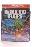 PHILIPS G7000 CONSOLE COMPUTER GAME -- VIDEOPAC 52 --  KILLER BEES -- 1983