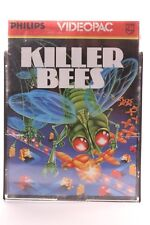 VINTAGE PHILIPS G7000 CONSOLE COMPUTER VIDEOPAC 52 KILLER BEES GAME