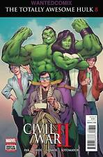 TOTALLY AWESOME HULK #8 JULY 2016 CIVIL WAR TIE IN BRUCE BANNER 1