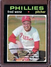 1971 Topps 92 Fred Wenz EX #D112816