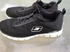 Mens Sketchers Sketch Knit Running Shoes Memory Foam USA Size 9.5 LOOK! WOW!