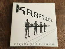 KRAFTWERK - MINIMUM- MAXIMUM - LIVE - PROMOTIONAL COPY!!! - RARE!!! - SYNTH POP!