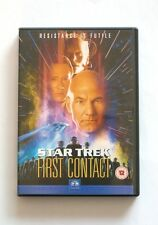 Star Trek First Contact DVD (Patrick Stewart, Jonathan Frakes, Brent Spiner)