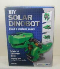 DIY Solar Dinobot Educational Model 4 in 1 Building Kit