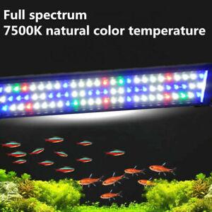24''36''48''Two Model Full Spectrum 5730SMD LED Aquarium Light Fish Tank Lamp