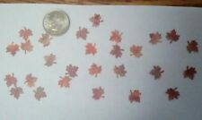 Dollhouse Miniatures Maple Leaves in fall colors. 1:12