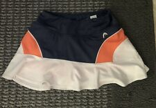 Ladies Head Tennis Athletic Running Yoga Skort FLOUNCY EUC