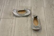 **Yosi Samra Sammie Ballet Flat - Toddler Size 6, Silver