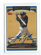 John Buck Signed 2006 Topps Card #126