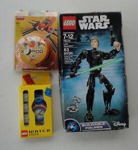 2 New Lego 75110 Star Wars Luke Skywalker X-Pod 4413 Arachno Pod + Watch System