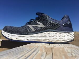 New Balance Fresh Foam Vongo Gray Blue Athletic Running Shoes Size 10.5 Men's