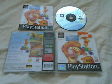 Disney's Tigger's Honey Hunt PS1 (COMPLETE) Winnie the Pooh Sony Playstation