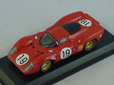 MODEL BEST 9152 - FERRARI 312 P LE MANS 1969 N°19 Amon - Schetty - 1/43
