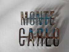 Monte Carlo badge Chevrolet Abzeichen stemma Scritta Schild Schriftzug