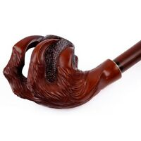 Dragon Claw HAND CARVED Handmade Wooden Smoking Pipe/Pipes for 9 mm filter