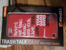 And 1 iPod touch Trash Talk Case- 5th Gen PHONE TOUGH & SLIM BASKET BALL